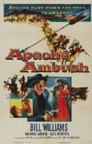 Apache Ambush 1955 DVD  - Bill Williams / Richard Jaeckel